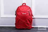 Рюкзак мужской портфель Supreme супреме красный
