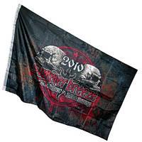 Пиратский Флаг знамя 150х90см