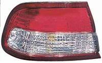 Фонарь задний для Nissan Maxima A32 '95-00 правый (DEPO) внешний, красно-белый