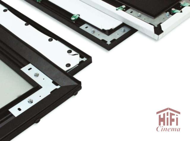 Экран Adeo натяж. Frame Pro rear elastic bands Reference White 400 x 232 (384x216), формат экрана 16:9