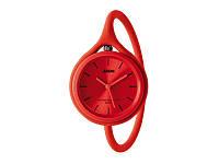 Часы наручные TAKE TIME красный силикон Ø 3 cm арт LM112R1