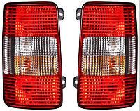 Фонарь задний для Volkswagen Caddy 04- левый (DEPO) 1/2 Door (с универсальным креплением)