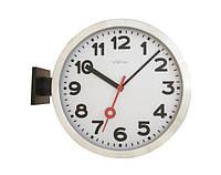 "Часы настенные ""Station Double""/36 cm/алюминий/ пластик арт 3217"