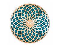"Часы настенные ""Sun Large Turquoise""/50 cm/дерево/ бирюза арт 3149TQ"