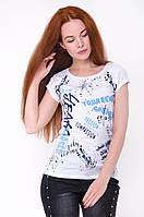 Женская летняя футболка с принтом