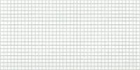 """Листовая панель ПВХ Регул мозаика """"Белая с зеленым швом"""" 0,4мм 955*488мм"""