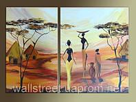 Картины диптих на заказ