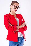Стильный женский пиджак + брошь