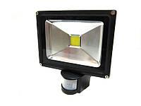 Светодиодный LED прожектор LAMP 20W IP65 с датчиком движения