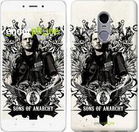 "Чехол на Xiaomi Redmi Note 4 Sons of Anarchy v2 ""2509c-352"""
