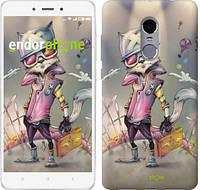 """Чехол на Xiaomi Redmi Note 4 Гламурный кот """"755c-352"""""""