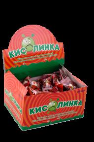 Жевательная резинка  Кислинка со вкусом клубники , 3,5  гр х 100 шт