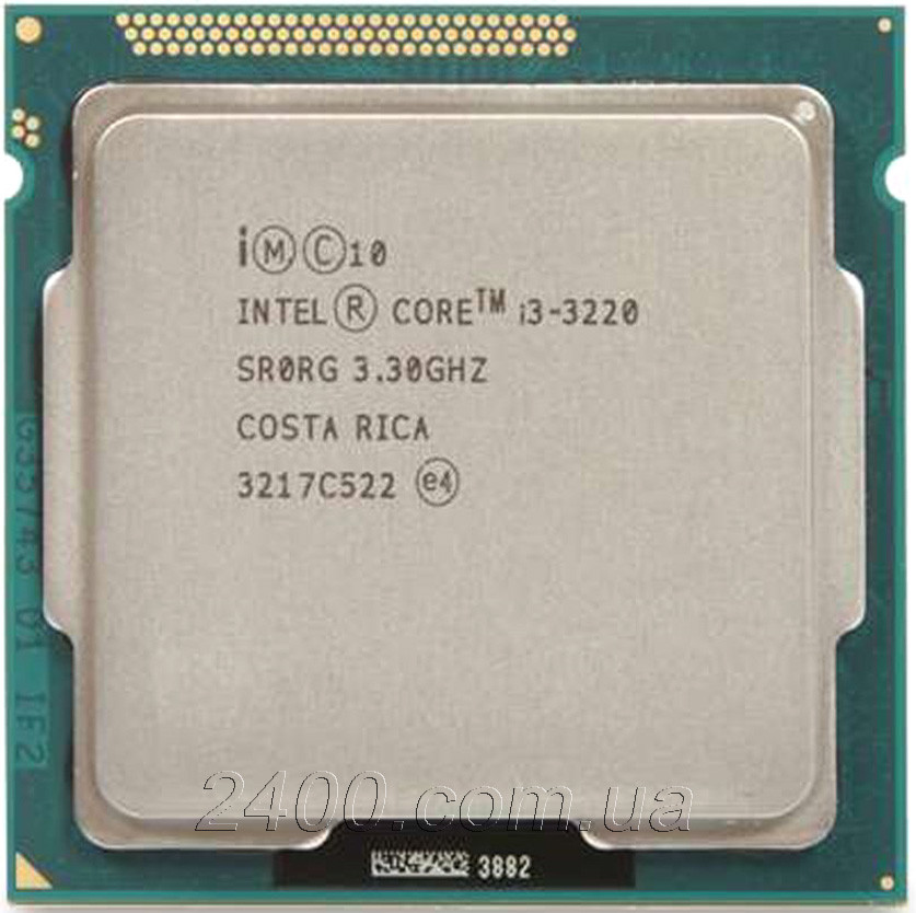 Процессор Intel Core i3-3220 3.3GHz/5GT/s/3MB Socket 1155