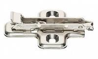 329.74.503 Монтажная планка для петли DOMI SM 3 мм под шуруп цвет металлик Германия Hafele