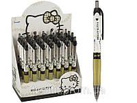 Ручка шариковая, автоматическая «Hello Kitty Diva» - цвет корпуса белый с золотом