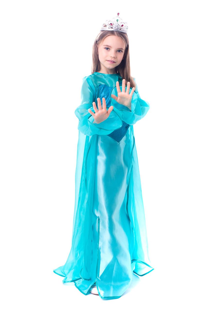 Детский карнавальный костюм Эльзы Холодное сердце