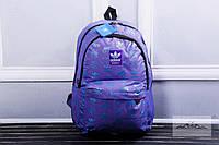 Рюкзак мужской adidas адидас фиолетовый портфель adidas