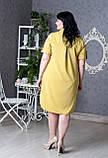 Женское платье-рубашка батал (50-58), фото 2