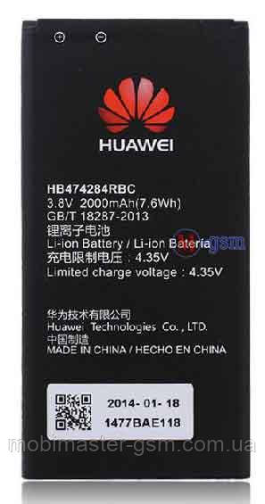 Аккумулятор Huawei HB474284RBC для Y625, Honor 3C Lite (2000 мАч)