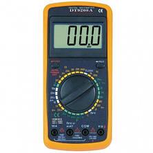 Многофункциональный цифровой измерительный прибор, мультиметр DT-9208A, фото 2