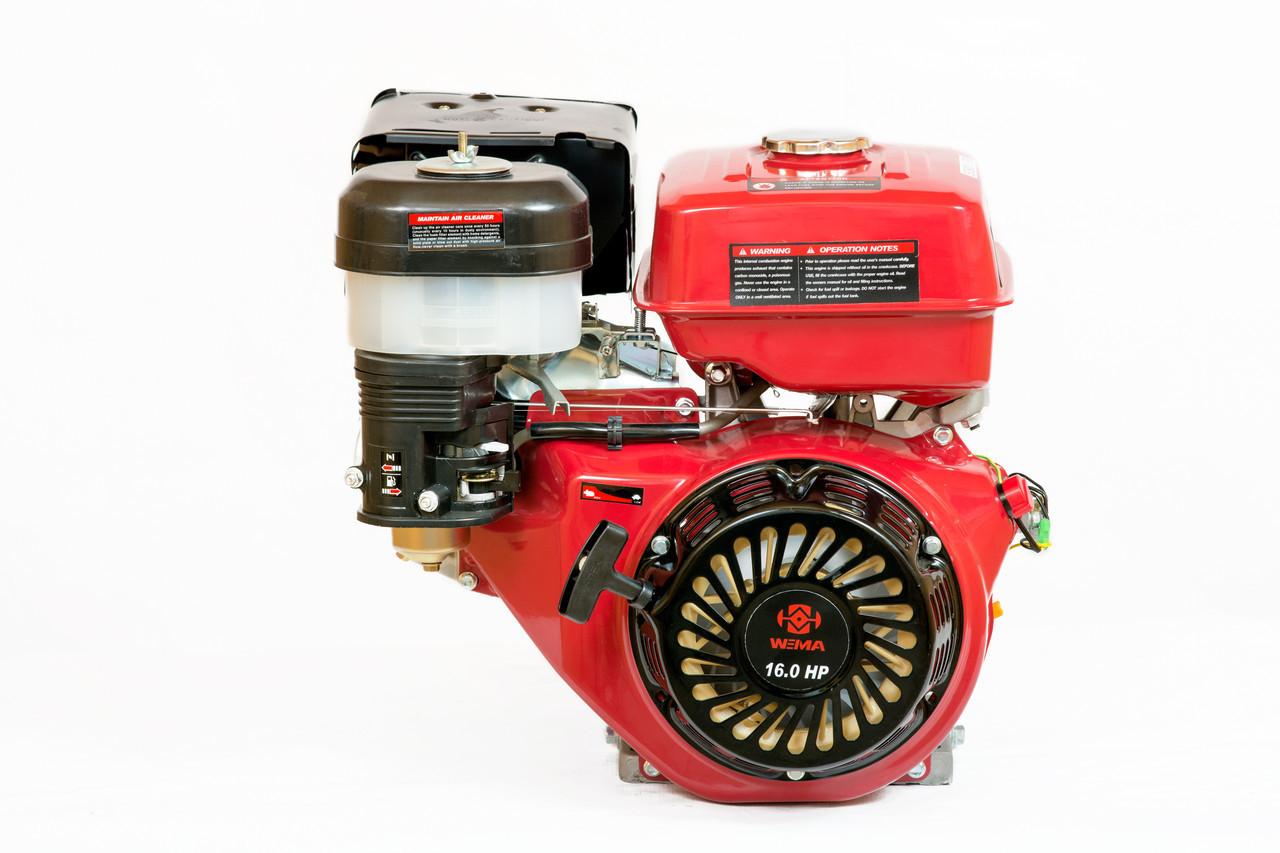Двигатель бензиновый Weima WM190F-L (R)  (HONDA GX420) (редуктор 1/2, шпонка, 16 л.с.)