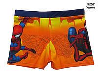 Плавки Spiderman для мальчика. 7-8 лет