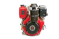 Двигатель дизельный Weima WM188FBE (вал под шлицы) 12 л.с. эл.старт, съемный цилиндр, фото 1