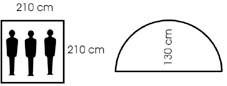 Купить палатку  M.F.H., Германия флектарн.