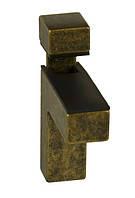 ПК25 Полкодержатель (стекло) ПК-25 цвет старое золото 84х24х68 Китай Falso Stile
