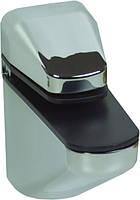 ПК15 Полкодержатель (стекло) ПК-15 цвет хром глянцевый 85х85 Китай Falso Stile
