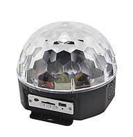 Светодиодный шар LED Magic Ball Light с пультом и флешкой FP-ZN