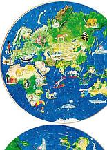 Вафельная картинка Глобус