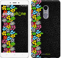 """Чехол на Xiaomi Redmi Note 4 цветочный орнамент """"2390c-352-2911"""""""