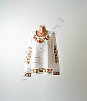 Жіноча вишиванка з машинною вишивкою недорого