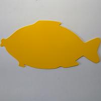 "Доска для пластелина фигурная ""Рыба"" 275х141 мм"