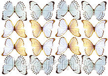 Вафельная картинка Бабочки 11