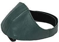 Автопятка кожаная для женской обуви бирюзовый