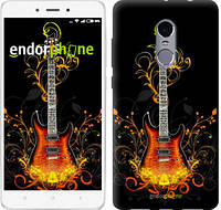 "Чехол на Xiaomi Redmi Note 4 Гитара и ленты ""187c-352-2911"""
