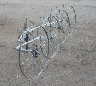 """Грабли-ворошилки (""""солнышко"""") ТМ Ярило (2,5 м, 4 колеса)"""