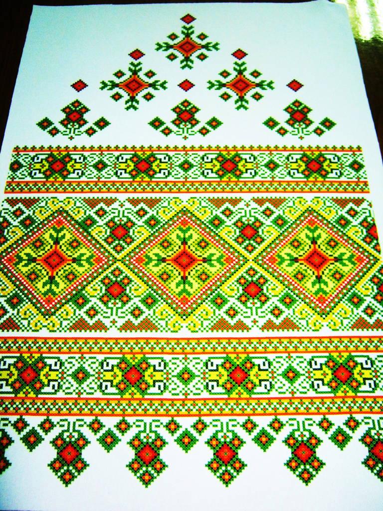Рушник для венчания ткань