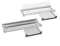 SVA60IB 2 решетки, 1 металлический поддон секция 600 мм ширина 864 мм цвет серый Италия VIBO