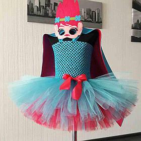 Карнавальное платье из фатина Принцесса Розочка (Poppy)