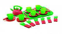 Посуда 32 предм. с подносом (6шт/уп)  04-421 VN