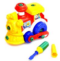 Конструктор детский 956 паровозик, инструменты  25-25-14см VC