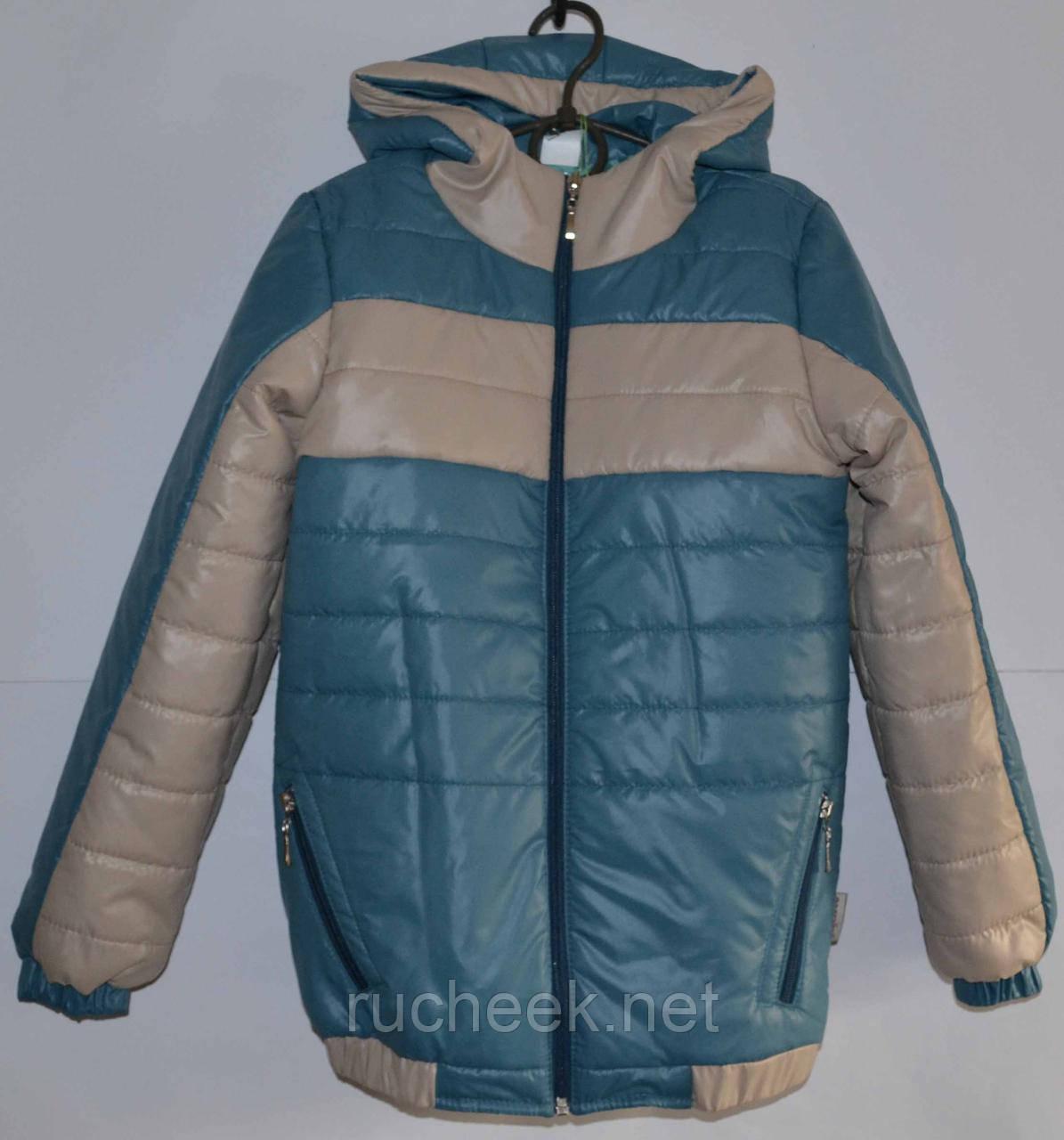 Куртка для мальчика осень, р-р 140, ТМ Одягайко 140