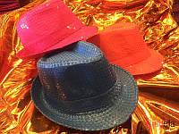 Шляпа с пайетками-15659