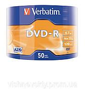 DVD-R Verbatim 4,7гб 16x Extra Protection Wrap (50 шт)