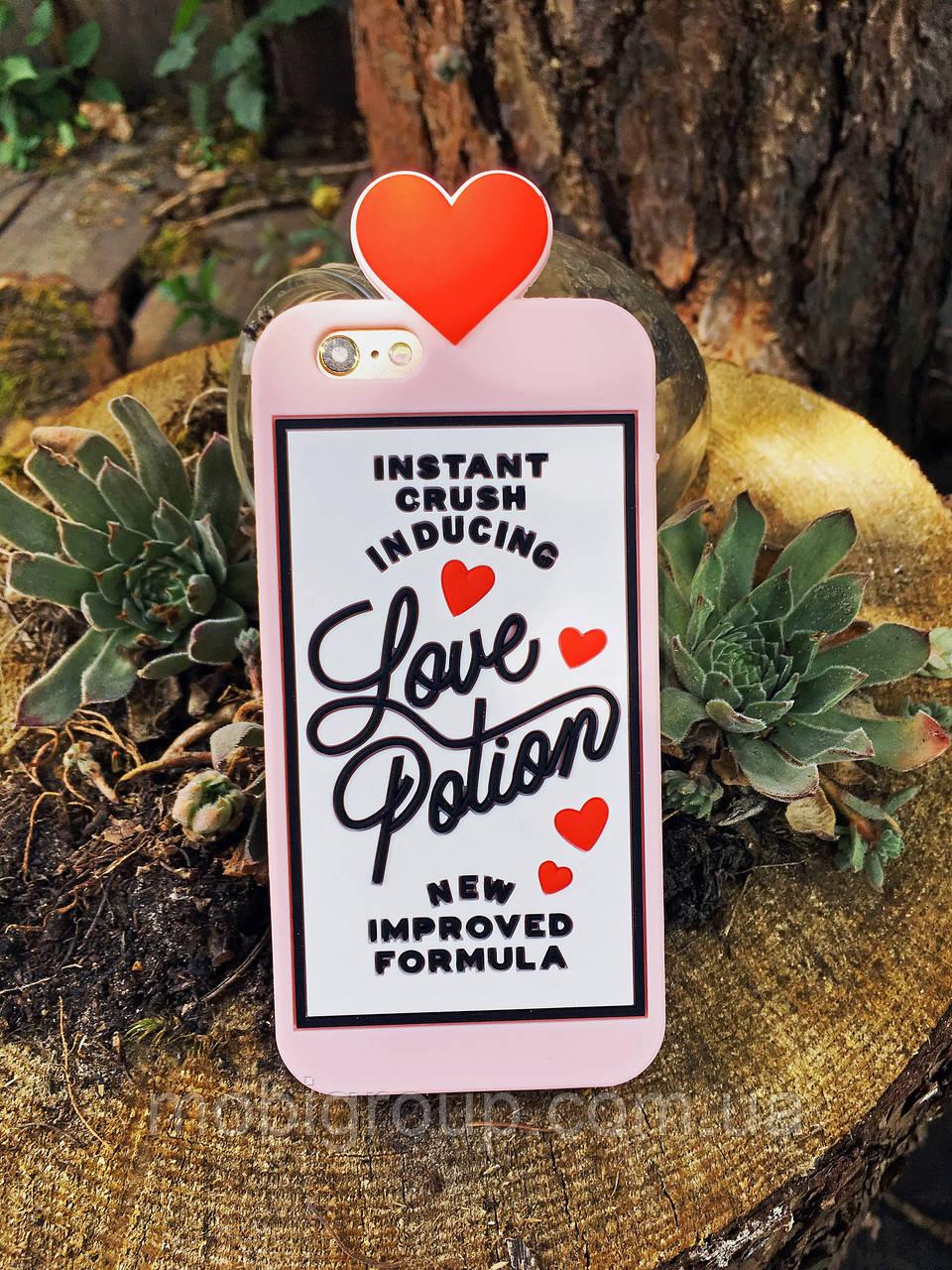 Силиконовый чехол Love Potion iPhone 6S/6