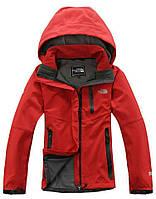Женская спортивная куртка The north face красная