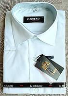 "Рубашка с коротким рукавом, тенниска белая (воротник 29/рост 122), ""E'MREKO"" Турция"